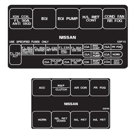 240sx fuse diagram today wiring schematic diagram 95 240Sx Parts